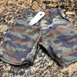 Carters 3T Camo boys shorts